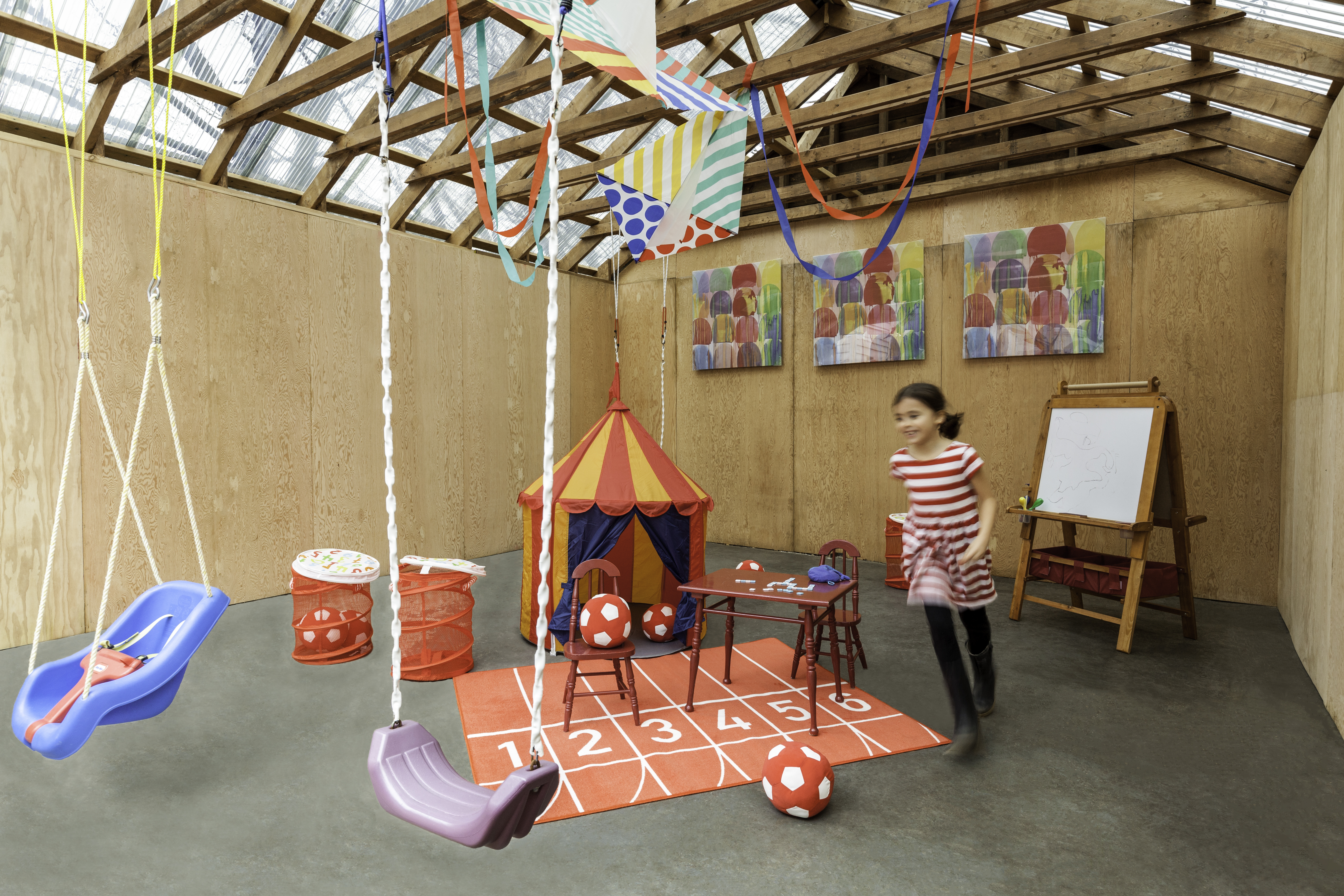 Backyard Play Space