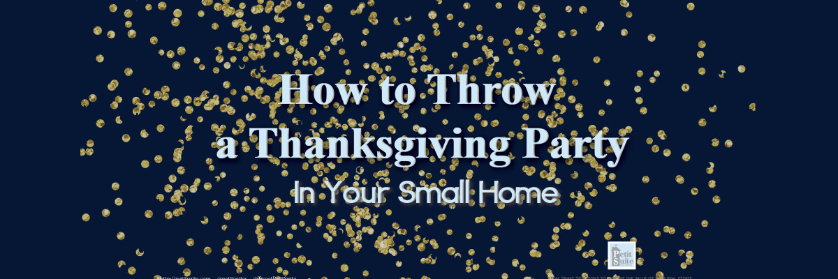 Three Small Home Thanksgiving Party Ideas