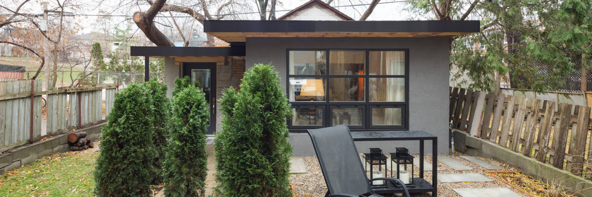 Backyard Garage Conversion